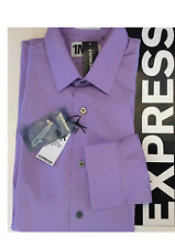 NWT *HOT* Express 1MX MODERN FIT Dress Shirt MEN Size: S, M, L 14 -16 Retail $59