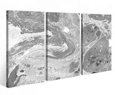 Canvas Picture 3 Pc abstract Art Hand painting black canvas picture 9P765