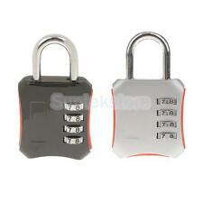 TSA Approved Luggage Suitcase Travel Lock 4 Dial Combination Security Padlock