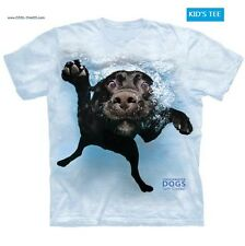 Underwater Dogs! Black Lab T-Shirt / Tie Dye Kids T-Shirt / Funny Dog Tee