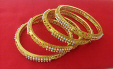 New Indian Jewelry Antique Bangle Bollywood Ethnic Gold Plated Traditional