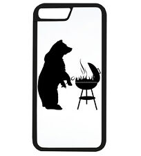 Bear Grills Funny BBQ Dad Father Gift Idea Phone Case iPhone Cover