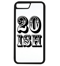 20 Ish Funny Birthday Age Gift Idea Dad Mum Old Phone Case iPhone Cover