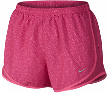 Nike Womens Meteor Tempo Pink Printed Running Shorts Sizes S or L 719779-616 NWT