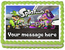 SPLATOON Image Edible Cake topper party decoration