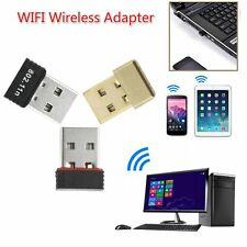 150Mbps 150M Mini USB WiFi Wireless Adapter Network LAN Card 802.11n/g/b Lot NT
