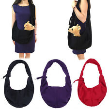 Puppy Pet Dog Cat Carrier Bag Single Shoulder Sling Bag Tote Travel Tote Handbag