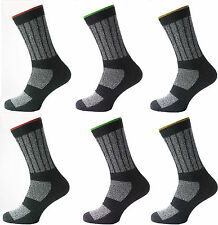 12 Mens KATO™ Cotton Rich INDUSTRIAL Safety Work Socks UK 6-11