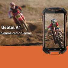 """Geotel A1 Tri-proof 3G Smartphone 4.5"""" Android 7.0 8GB 8.0MP Waterproof GPS W4Q9"""