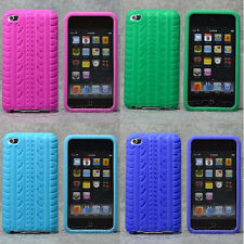 New Tire texture soft Silicone Case Cover Skin for Ipod Touch 4 4G