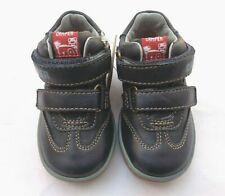 NEW CAMPER FOR KIDS BOYS PELOTAS PERSIL FW NAVY NATURAL LEATHER SHOES.
