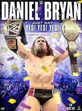 WWE: Daniel Bryan - Just Say Yes Yes Yes (DVD, 2015, 3-Disc Set)