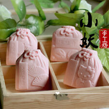 Soap Mold Craft Blessing Silicone Soap Making Mould Candle Resin Handmade Mold