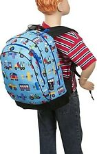 Olive Kids Trains Planes & Trucks Sidekick Backpack. Shipping is Free