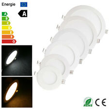 Dimmable Recessed LED Ceiling Panel Light 6W-21W Ultra Thin Lamp +Free Driver