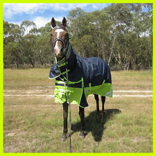 LMHORSE 600D 300g 5'0 - 5'9 Reflective Ripstop Winter Combo Waterproof Navy/Lime