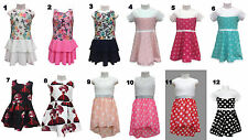 Girls Dress Summer Spring Special Occasion Casual Dress Gala Dress Party 92-164