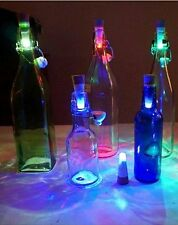 Cork Shaped Rechargeable USB LED Night Light Wine Bottle Lamp Party