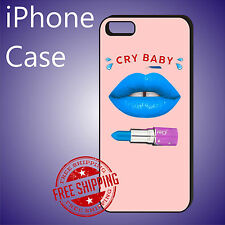 Cry Baby lips Melanie Martinez Case Cover iPhone 8+ 7+ 7 6s+ 6+ SE 5c 5s se #ED