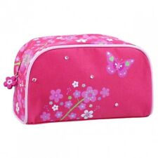 Pink Poppy Apple Blossom Makeup Bag (Hot Pink). Delivery is Free