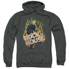 House TV Show ROCK THE HOUSE with Guitar Flames Licensed Sweatshirt Hoodie