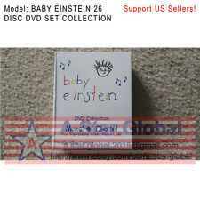 BABY EINSTEIN 26 DISC NEW DVD SET COLLECTION, FREE SHIPPING.