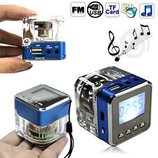 Mini Portable Digital Music MP3/4 Player USB Disk Speaker w/FM Radio Micro SD/TF