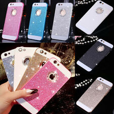 Bling Glitter Luxury Crystal Hard Back Phone Case Cover For iPhone 5s 6S 7 Plus