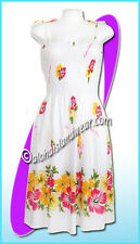 White aloha beach dress 6020