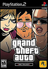 3 Games for a Great Price, Grand Theft Auto: The Trilogy (Sony PlayStation 2)