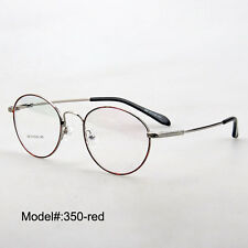 New 350 full rim memory titanium RX optical frames myopia eyewear eyeglasses