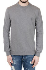 DOLCE&GABBANA New Men grey Cotton sweatshirt Made in Italy