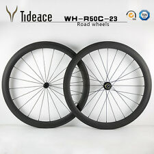 50mm 23 Carbon Wheelset Bicycle Wheels Full Carbon Fiber Racing Bike Wheelset