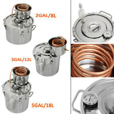 Ethanol Water Gal Alcohol Wine Stainless Home Alcohol distiller Moonshine Still