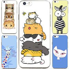 1Pcs New Shell Cell Case For iPhone Cover Silicon Phone Lovely Hot Animal Soft