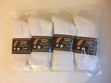 WHOLESALE JOB LOT OF 240 X PAIRS OF MENS SOCKS IN WHITE FIT TO SIZE 6-11
