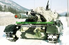 Norwegian Army Leopard 1 Main Battle Tank Color Photo Military Cold Winter 87