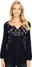 Lucky Brand Women's Embroidred Peasant Top - Choose SZ/Color