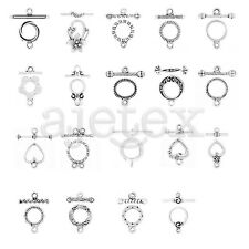 20-150pcs Ring Toggle Clasps Metal Connector Jewelry Finding