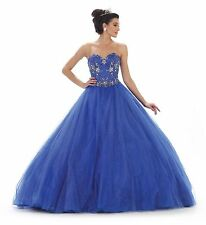 TheDressOutlet Long Quinceanera Ball Gown Sweet 16 Dress