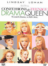 Confessions of a Teenage Drama Queen Kids Disney Movie (DVD, 2004)