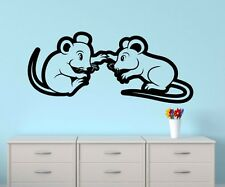 Wall Decal Love Mouse Mice Hand Heart Animals Animal Sticker Bedroom 1B415