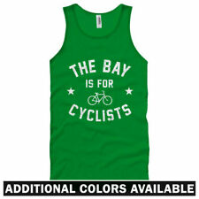 The Bay Area is for Cyclists Unisex Tank Top - Men Women XS-2X - Bicycle Cycling