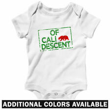 Of California Descent One Piece - Baby Infant Creeper Romper NB-24M - Cali Gift