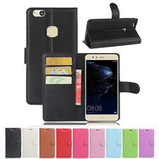 Luxury Magnetic Card Slots Wallet Flip Stand Leather Case Cover Skin For Huawei