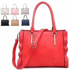 Ladies Designer Faux Leather Summer Style Handbag Shoulder Bag Tote MA34700