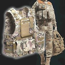 Military Airsoft Combat Molle Vest Tactical JPC Jump Plate Carrier Vest