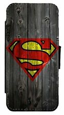 MARVEL DC Superman Inspired Leather Flip Phone Case Cover  D33
