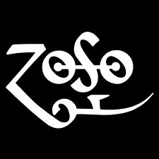 ZOSO Led Zeppelin Jimmy Page Four Runes Houses Of The Holy Shirt