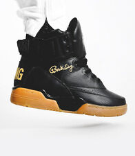 Ewing Athletics 33 Hi Black Gold Gum Leather Retro BNIB Patrick Ewing Sneakers